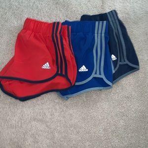 3 adidas shorts